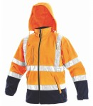 Warnjacke DERBY orange