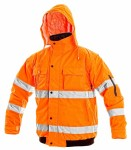 Warnjacke LEEDS orange